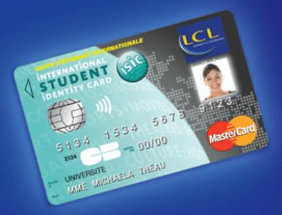La carte LCL ISIC