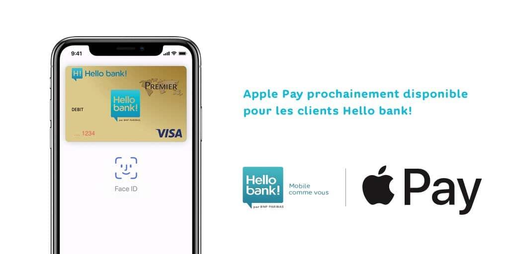 Hello Bank Apple Pay avis