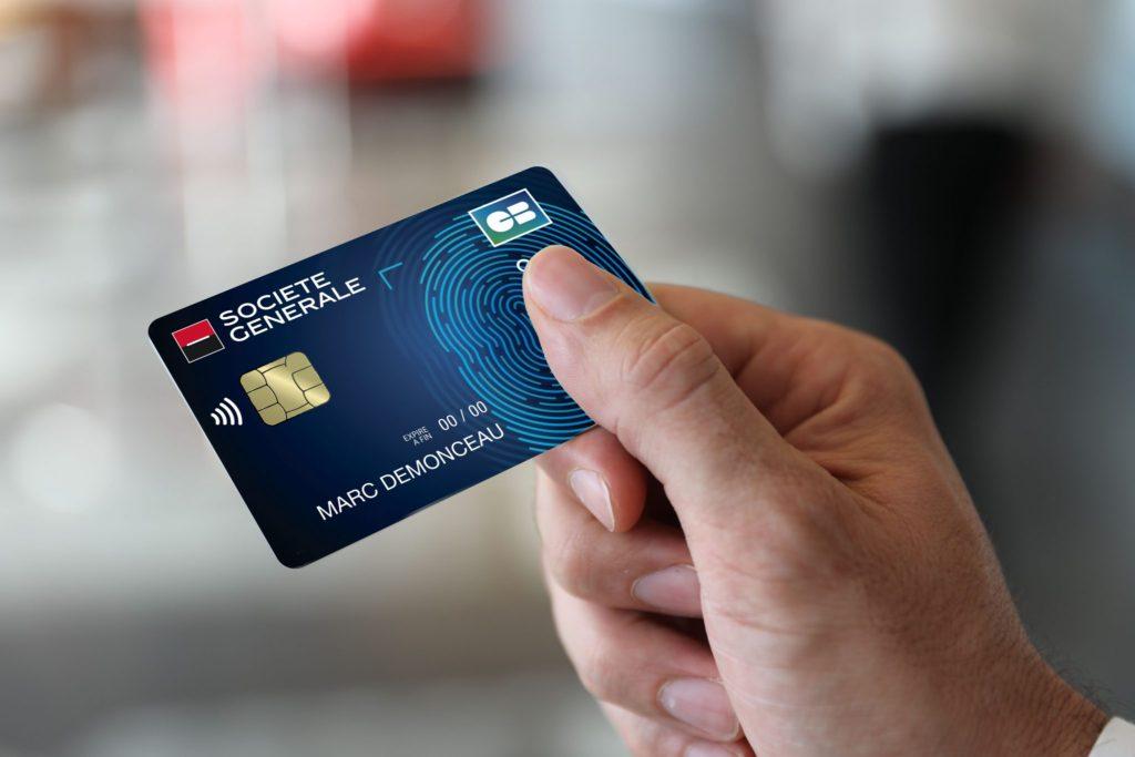Société Générale carte biométrique