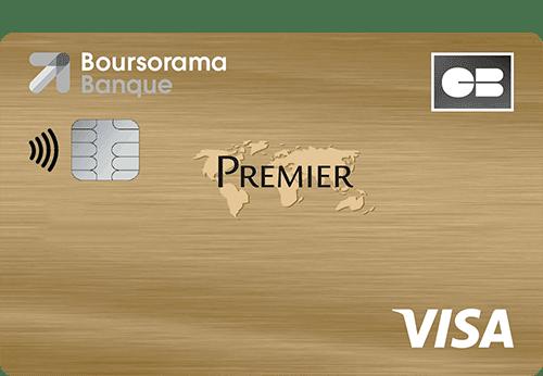 carte bancaire Boursorama Visa Premier
