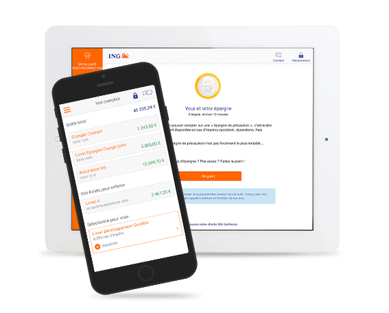 site et appli mobile ING Direct