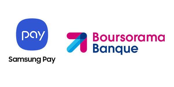 samsung pay boursorama banque
