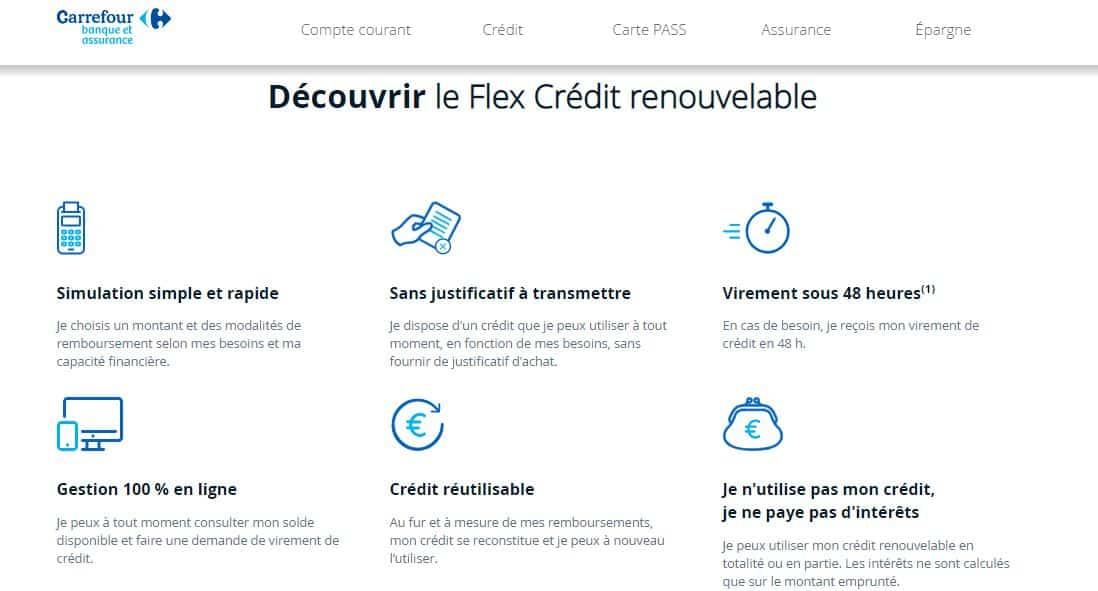 utilisation credit conso renouvelable