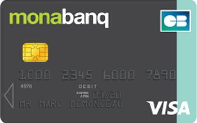 Avis carte banque en ligne Visa On Line Monabanq