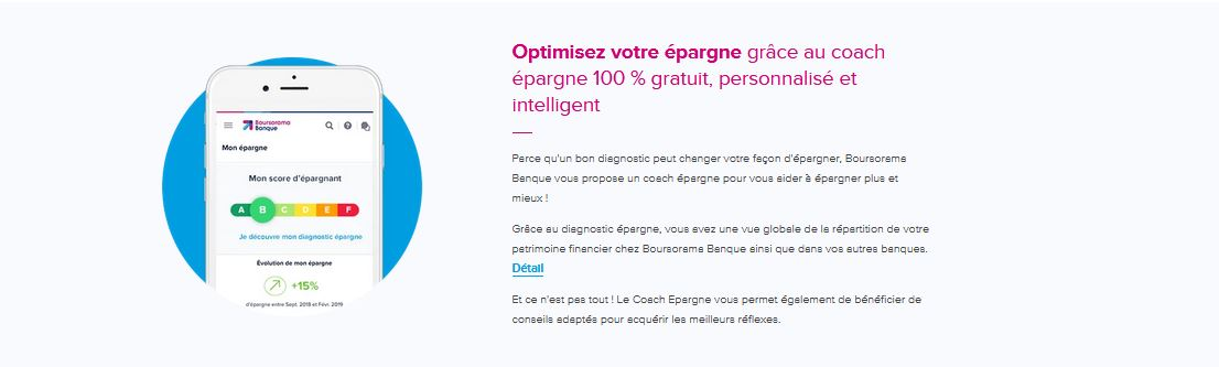 Coach Epargne Boursorama Banque
