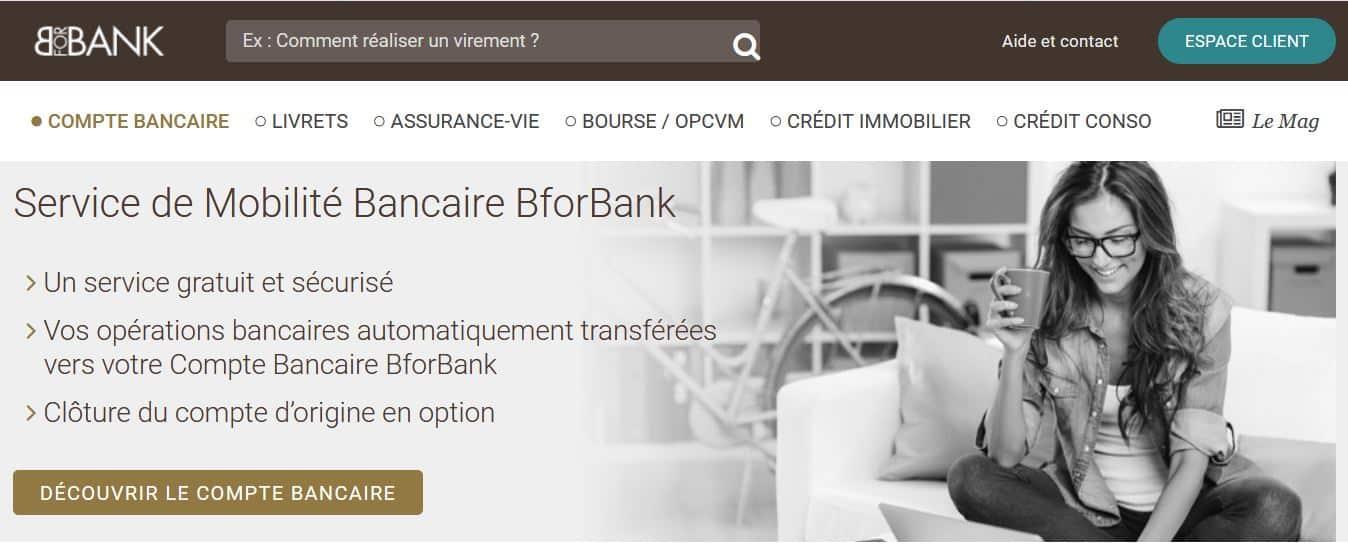 mobilité bancaire Bfrobank