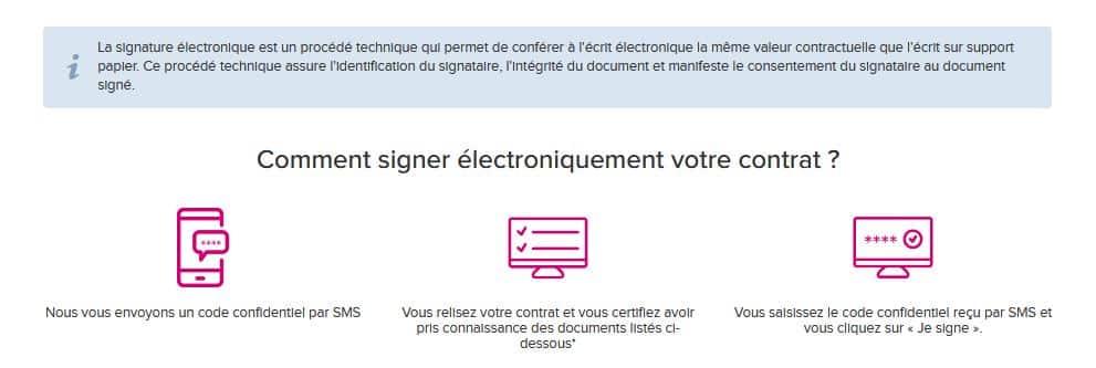 signature électronique Boursorama Banque