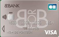 Avis carte banque en ligne Visa Classic BforBank