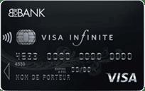 Avis carte banque en ligne Visa Infinite BforBank