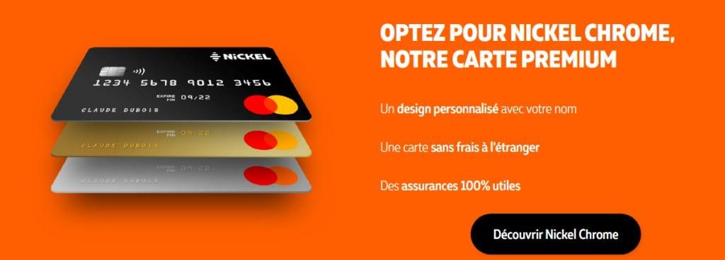 cartes bancaires Nickel