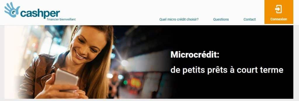 micro crédit cashper