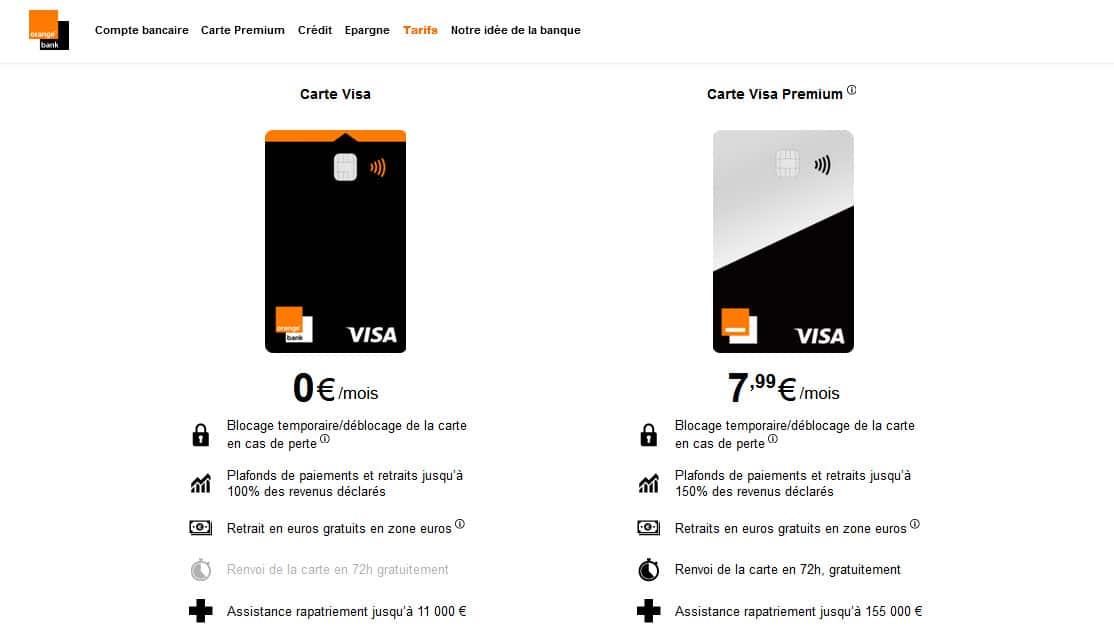 Assurance moyen de paiement Orange Bank