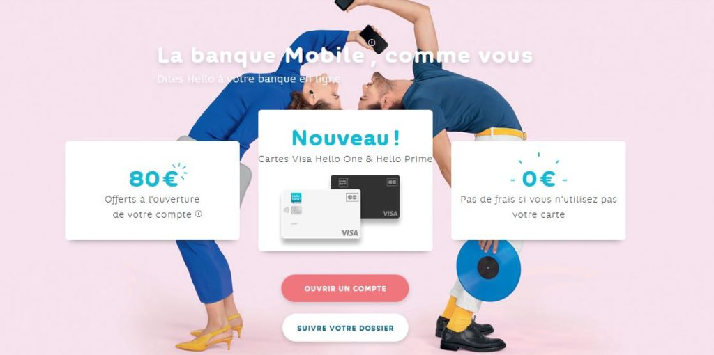banque au quotidien Hello Bank