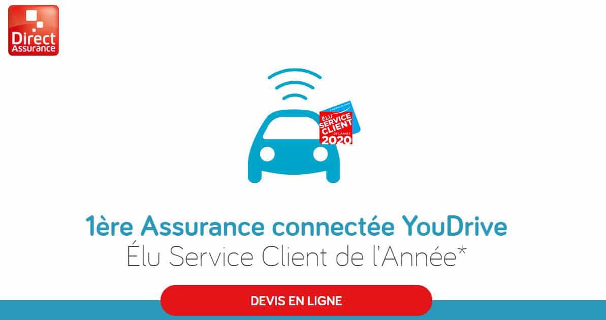 assurance auto connectée Youdrive