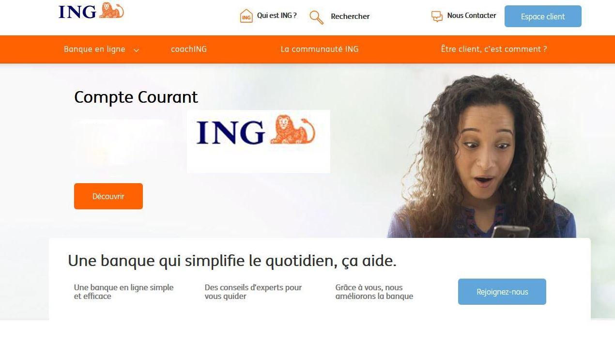 ING meilleure banque pour ouvrir un compte bancaire en ligne