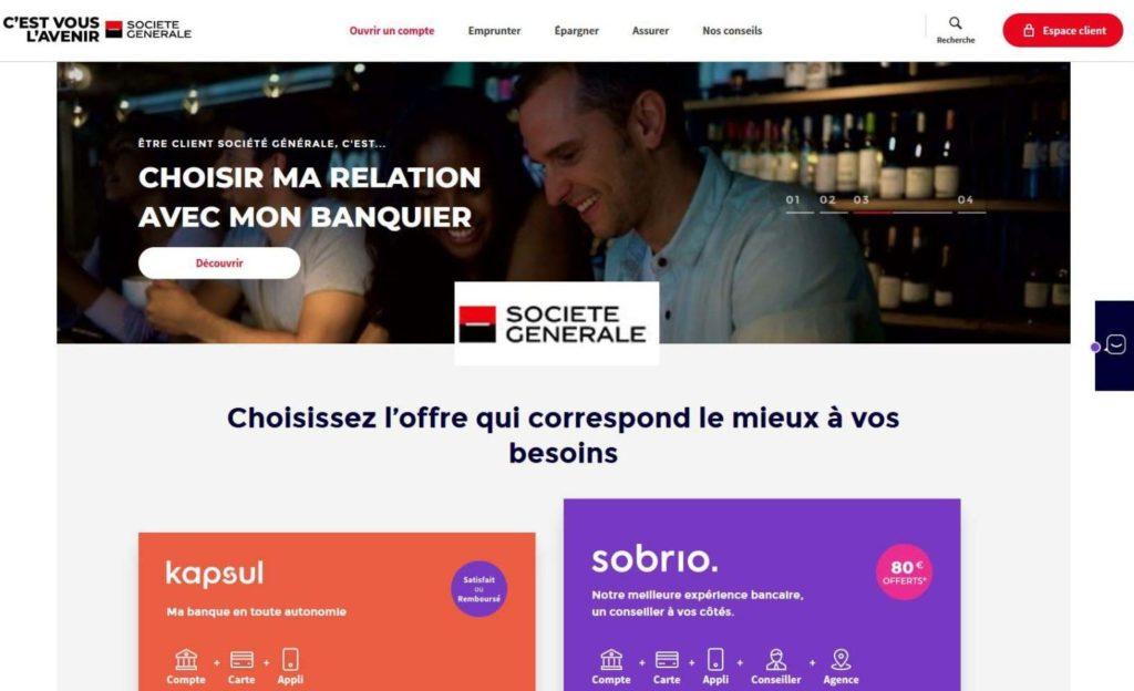 La Banque traditionnelle Société Générale