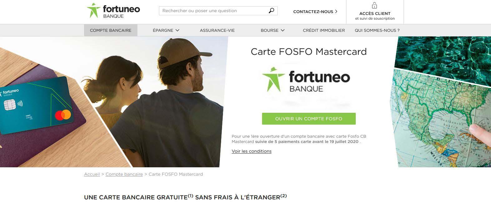 L'offre Fosfo de Fortuneo