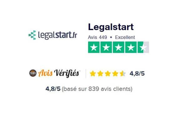 Legalstart avis client