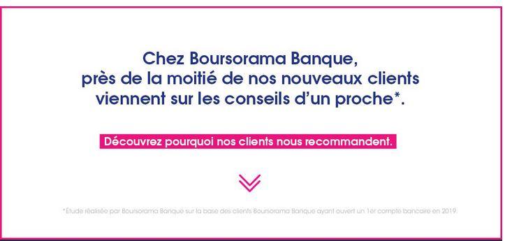 avis consommateurs Boursorama Banque recommandation