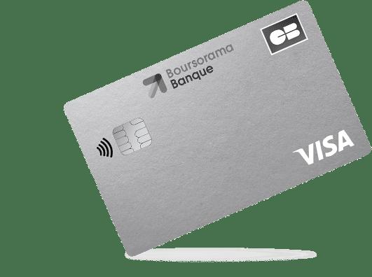 carte bancaire Boursorama Visa Welcome
