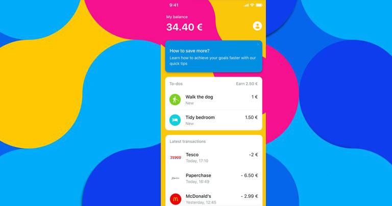 L'appli Revolut junior