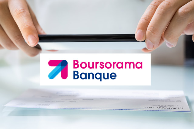 Cheque Boursorama