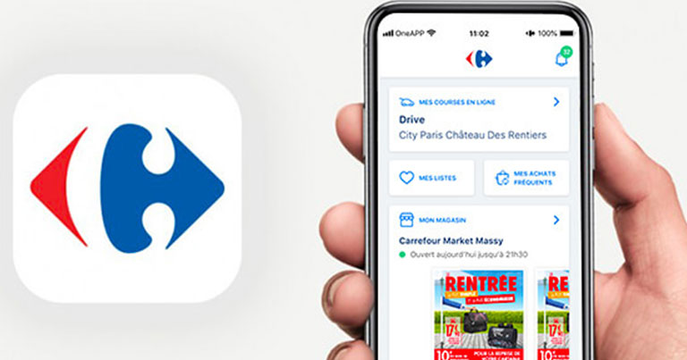 Carrefour et Apple Pay