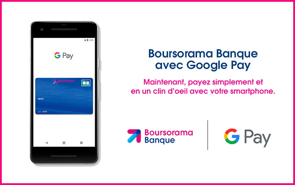 Banques en ligne compatibles avec Google Pay