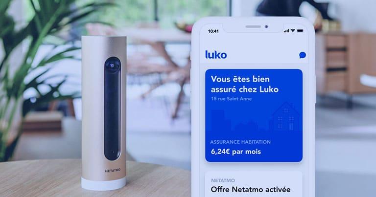 L'appication Luko et Natatmo
