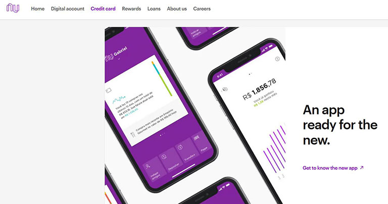 L'application Nubank