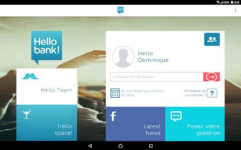service client Hello Bank