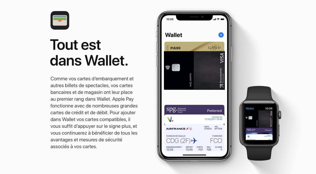 wallet Apple Pay Boursorama