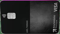 Avis carte banque en ligne Visa Ultim