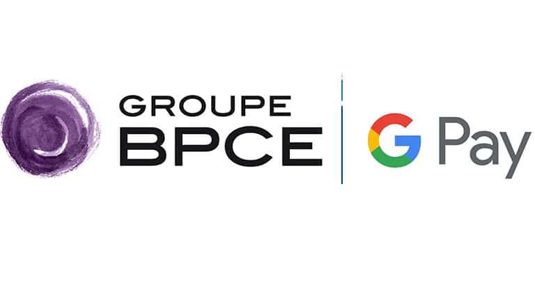 Logo BPCE et Google pay