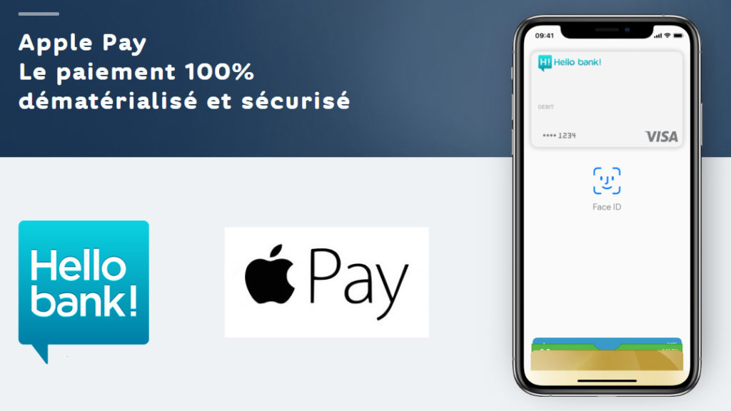 paiement mobile sans contact Hello Bank Apple Pay