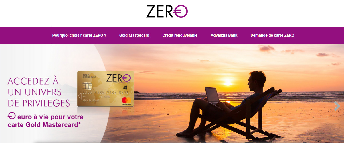 Avis Carte Zero