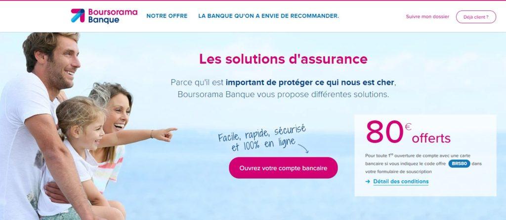 Boursorama assurance