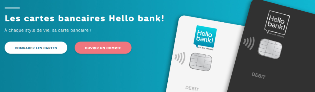 Carte Visa gratuite Hello Bank