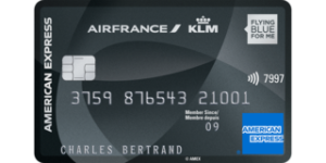 Avis carte bancaire Air France KLM Amex