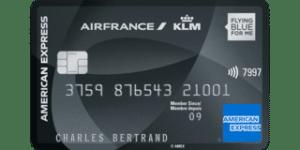 Avis carte bancaire Air France KLM Amex