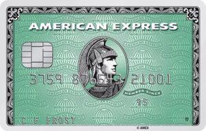 Avis carte bancaire Amex Green