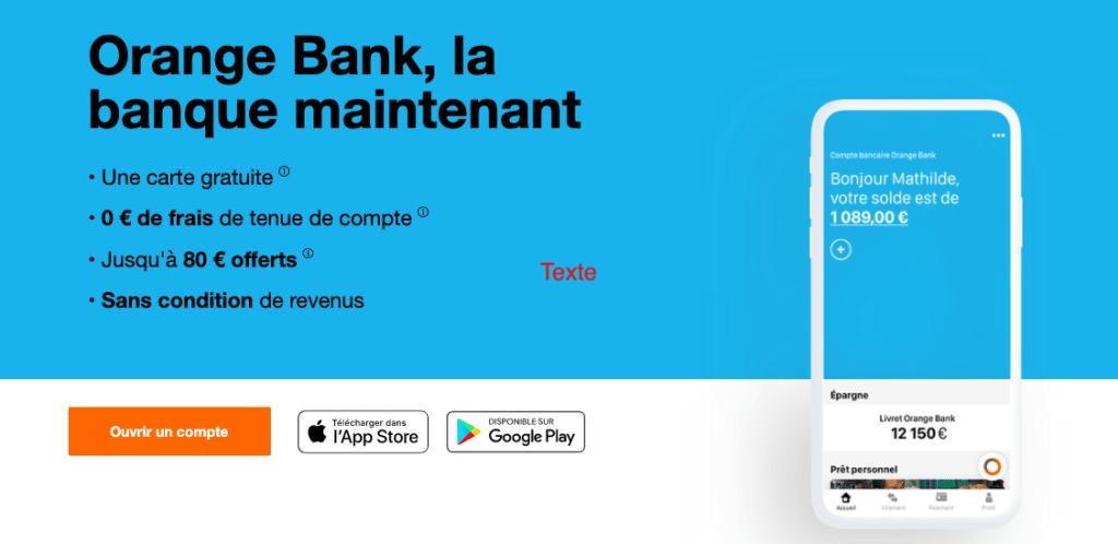 devenir client orange bank offre de bienvenue