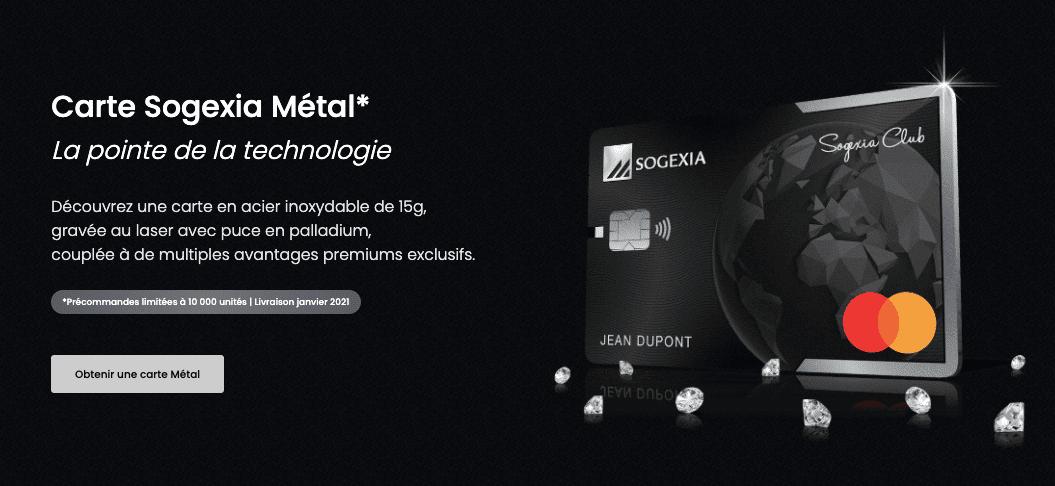 carte métal gravé au laser Sogexia