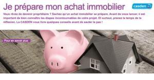 banque pour fonctionnaire immobilier