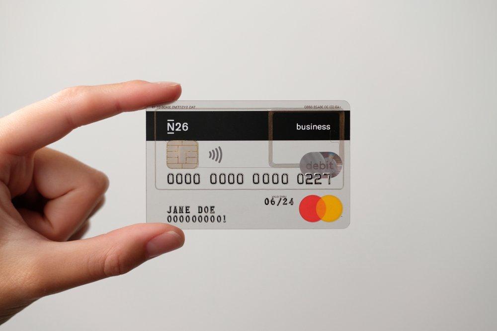 carte bancaire transparente