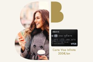 carte bleue black BforBank