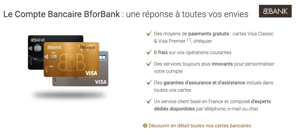 Domiciliation bancaire chez BforBank directement en ligne