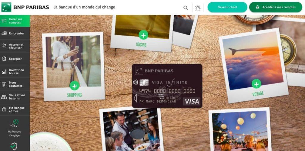 Services haut de gamme Visa Infinite gratuite