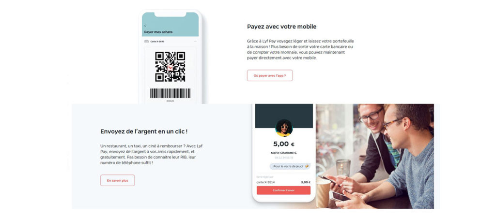 Solution de paiement mobile Lyf Pay