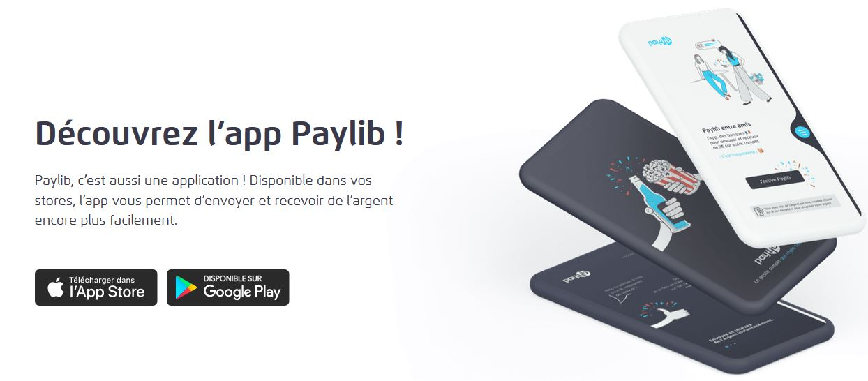 Solution de paiement mobile Paylib